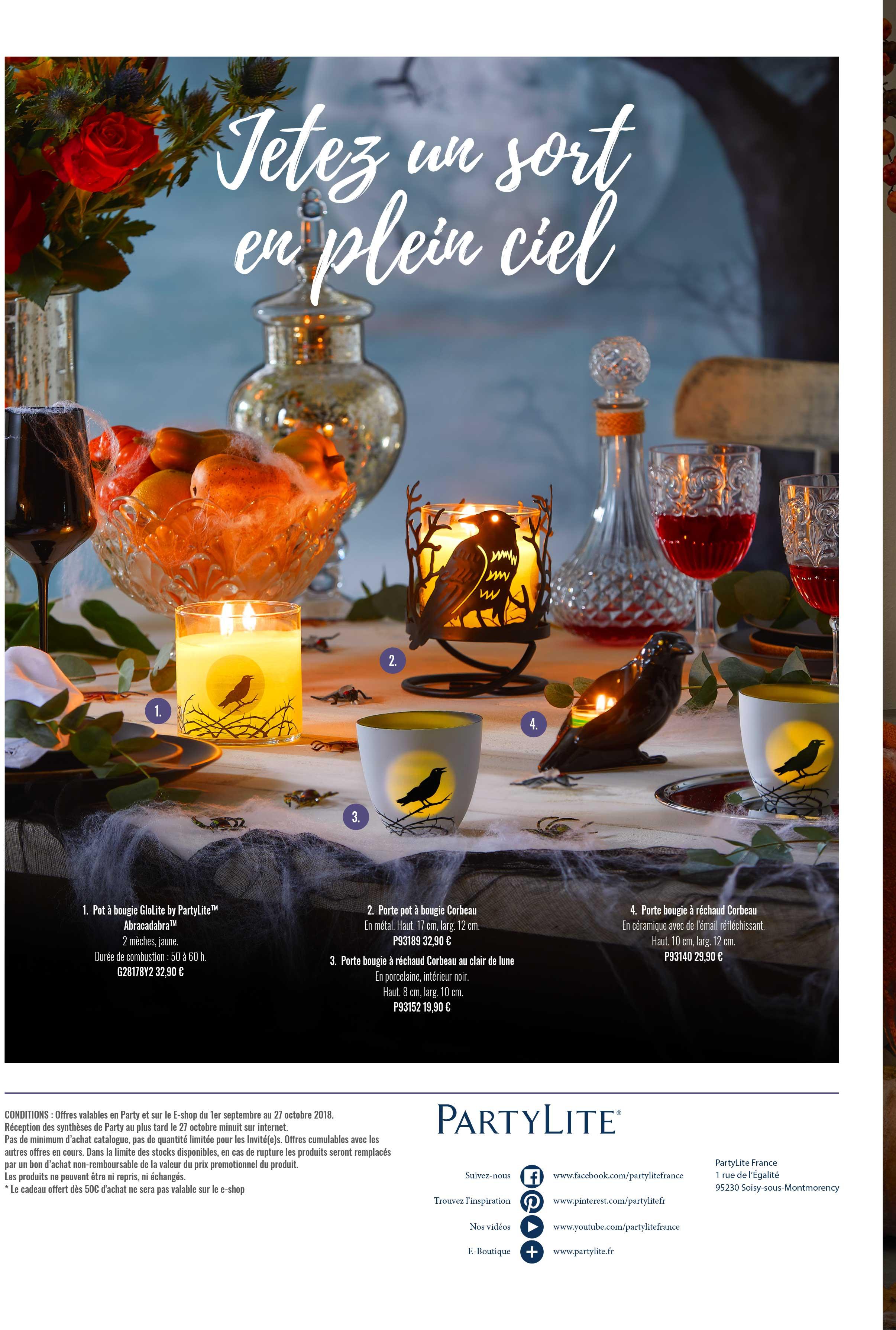 catalogue 2018 partylite